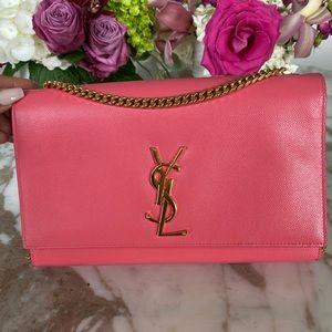 Saint Laurent Monogram Kate Medium Pink Bag!